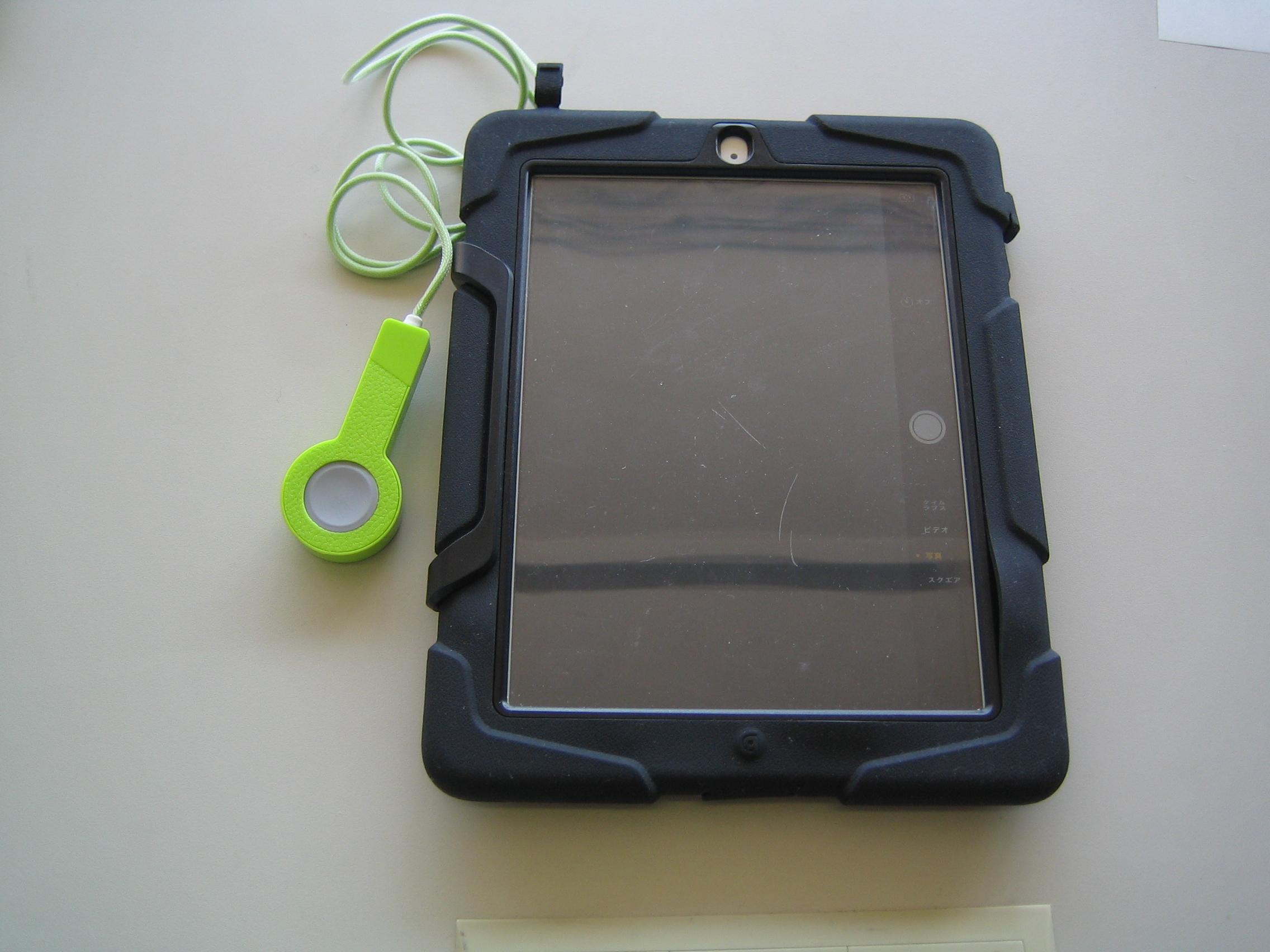 タブレット端末用写真撮影リモコン